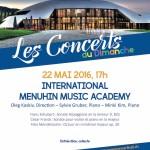 RCH - Concerts du dimanche - 22 mai 2016