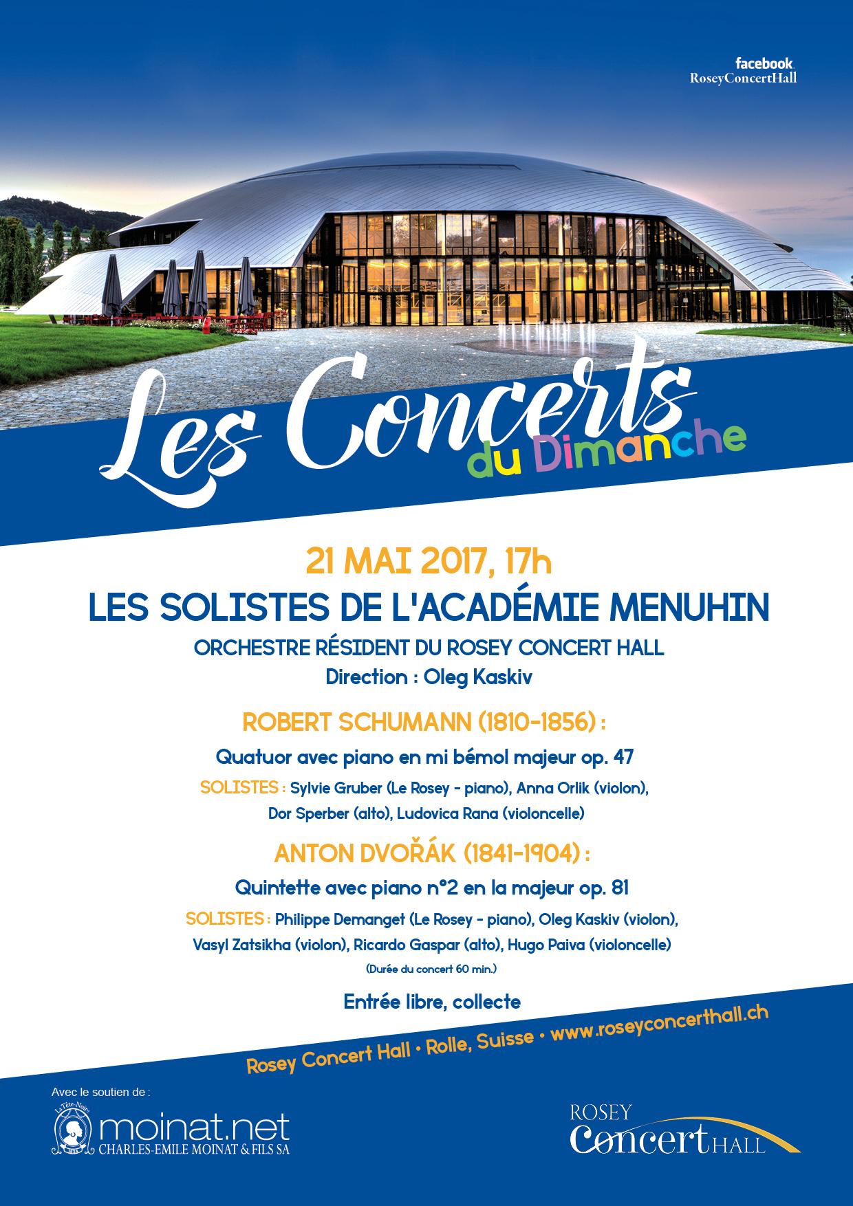 Concert du Dimanche 21 mai