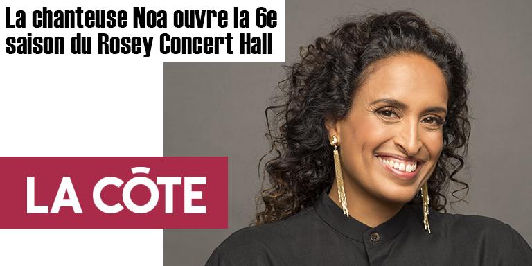 Noa au Rosey Concert Hall