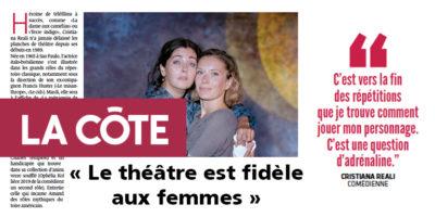 Le théâtre est fidèle aux femmes