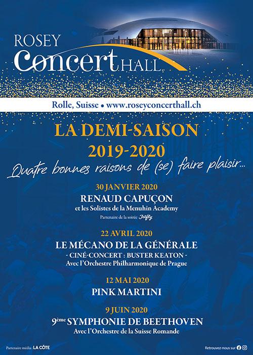 Demi-saison au Rosey Concert Hall