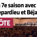 La 7e saison avec Depardieu et Béjart