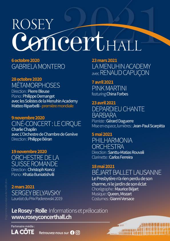 Rosey Concert Hall Saison 7